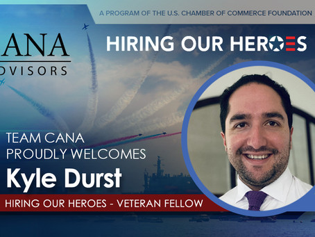 Welcome Our Newest Hiring our Heroes (HoH) Fellow, Kyle Durst!