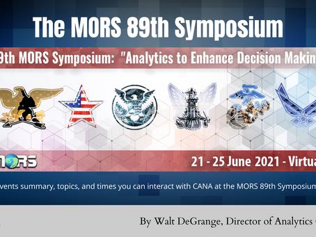 CANA at the mors 89th symposium