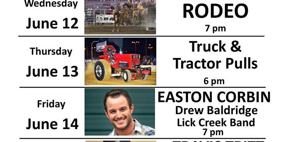 Sangamon County Fair Grandstand w/Easton Corbin/Drew Baldridge