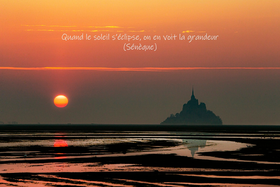 Mt St Michel s'endort