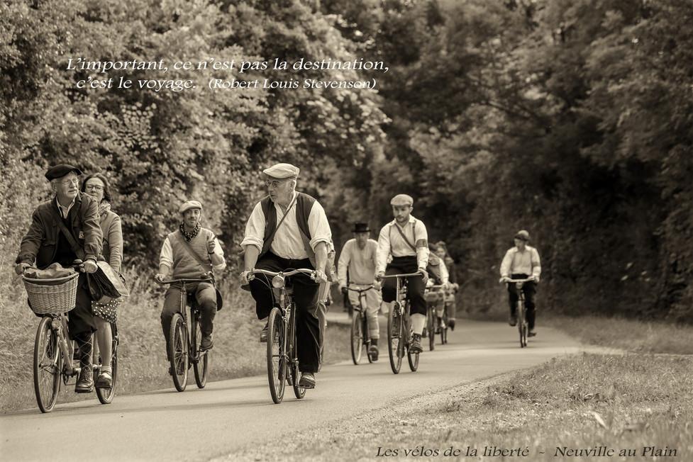 Les vélos de la liberté