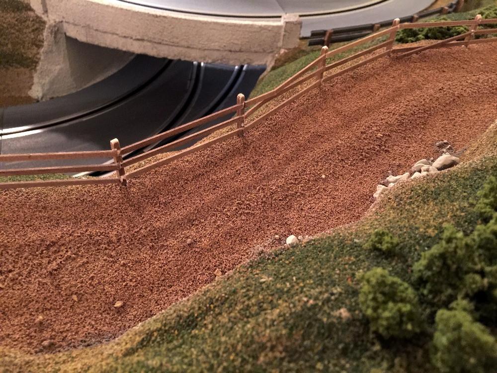 Dirt Road Overlook Overhead