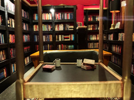 Battery Park Book Exchange Diorama - Close Up