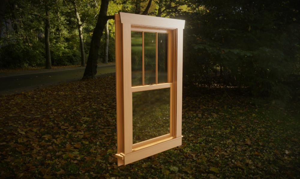 3D Craftsman Window