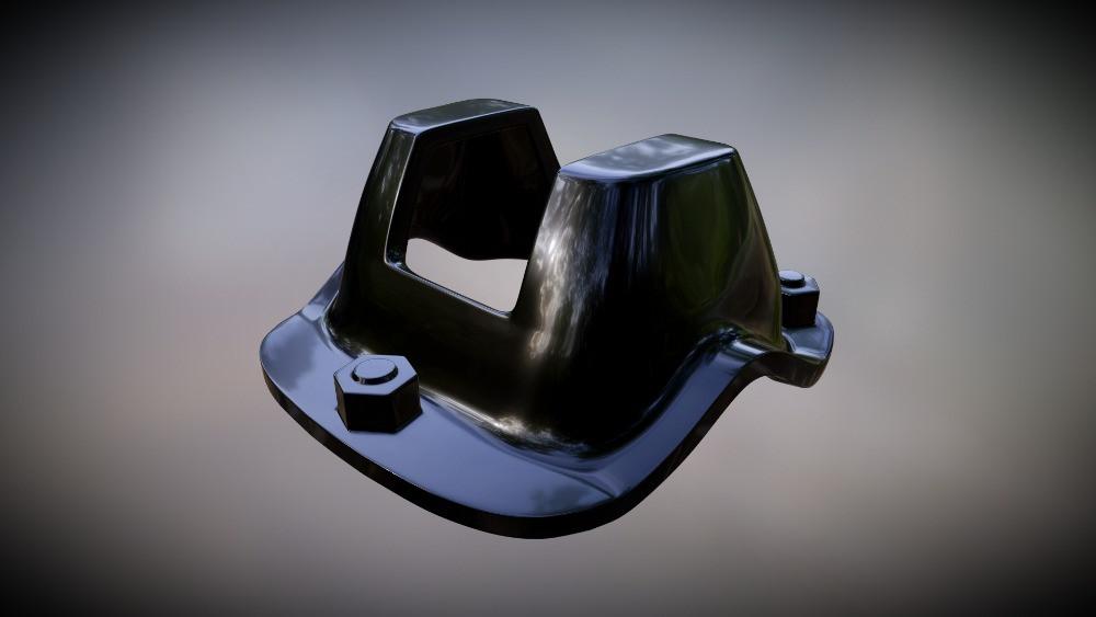3D Shock Mount for Model Car