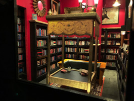 Battery Park Book Exchange Diorama - Inside View