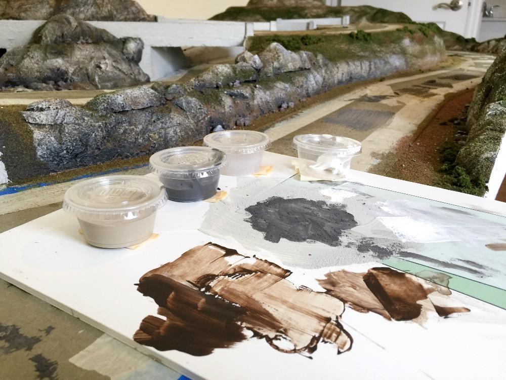 Scenery Paint Palette