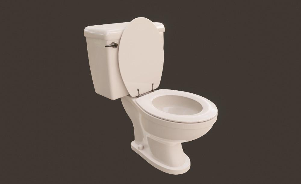 3D Vintage Toilet
