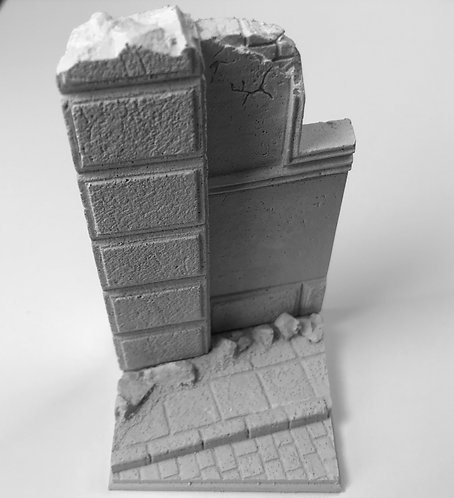 Building Ruin Base I TW-35037 1/35th Scale