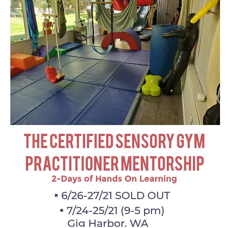 The Certified Sensory Gym Practitioner Mentorship