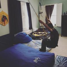 Bedroom Swing Area