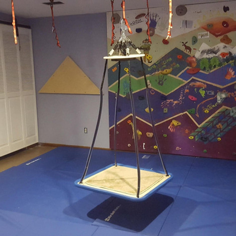 Kids chill space in basement