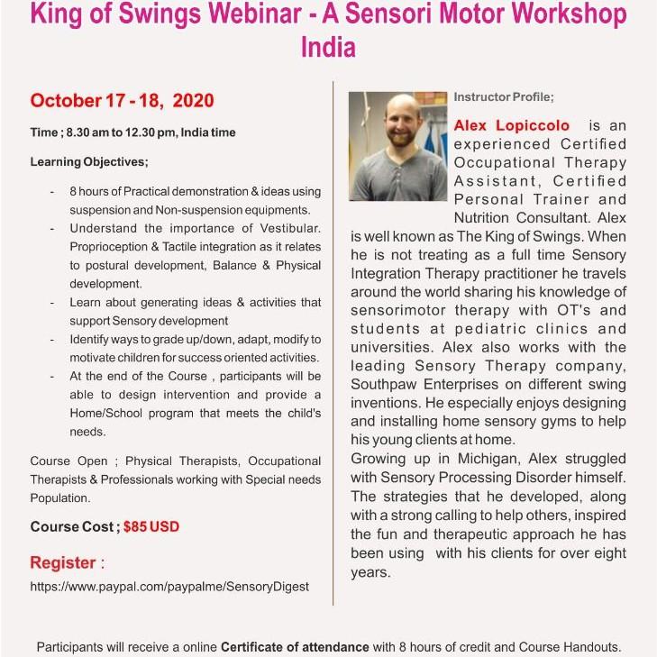 The #KingOfSwings India Webinar