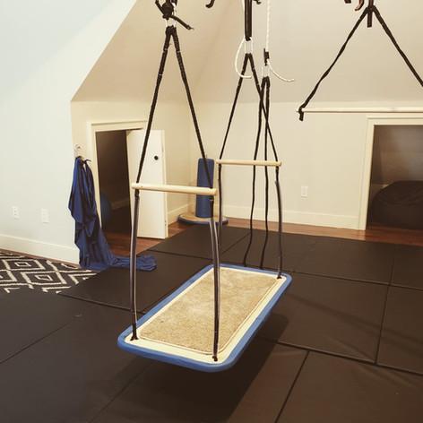 In-home OT and ABA service attic room