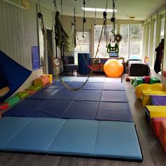 Solarium turned to Sensory Gym