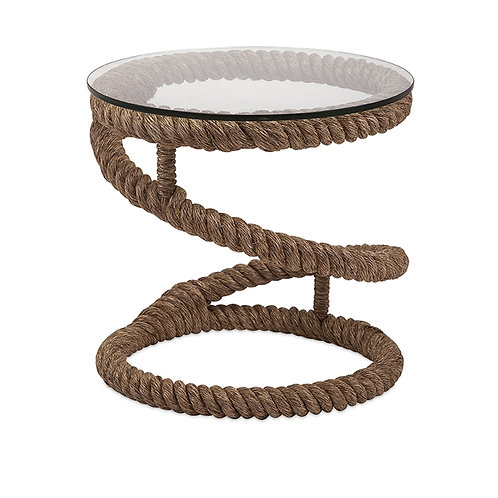 Big E's Jute Rope Accent Table