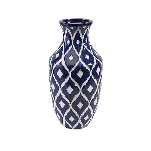 Machias Blue Vase, tall