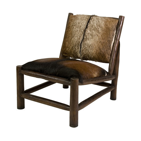 JWB Animal Hide Accent Chair