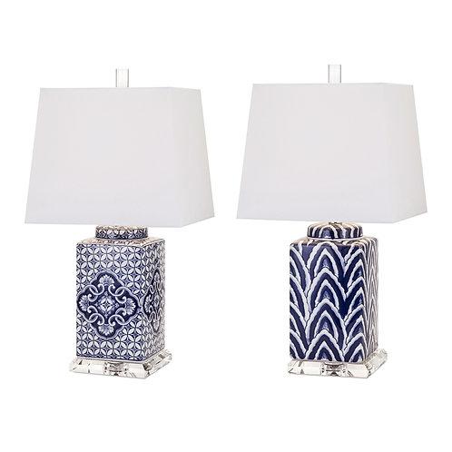 Kayla Marie Carolina Table Lamps, set of 2