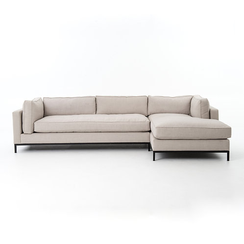 Grammercy 2 Piece Sectional, right arm