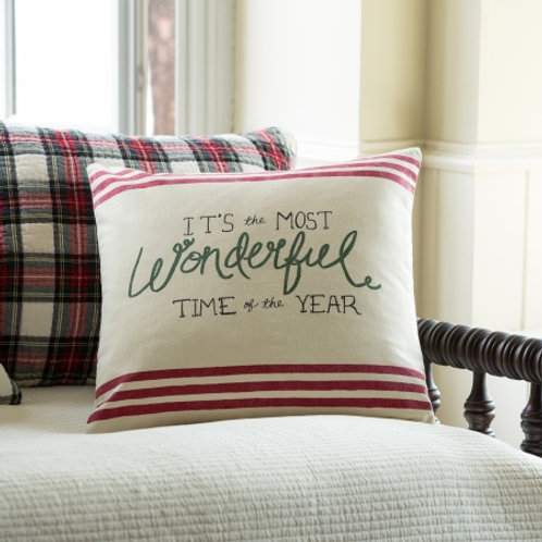 Wonderful Canvas Pillow