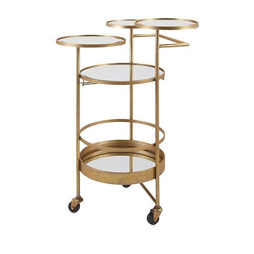 Beth Kushnick Bar Cart