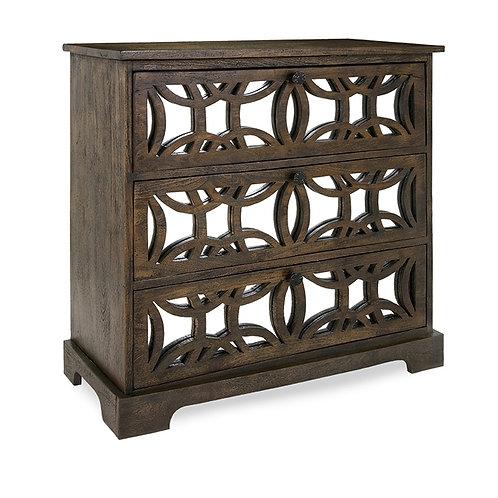 Madison Monterey Square 3 Drawer Cabinet