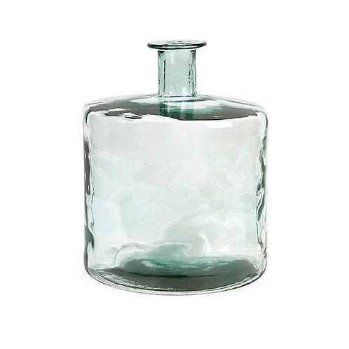 Madison Recycled Glass Vase, short