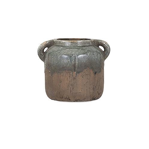 Bardot Small Blue Stone Vase