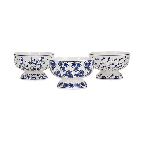 Kayla Marie bowls, assorted set of 3