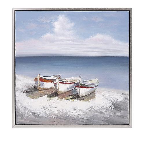 Seaside Oil Painting on Canvas