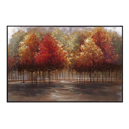 Trisha Yearwood Persimmon Oil Painting with frame