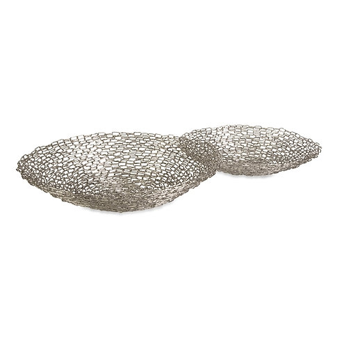 Madison Chain Link Bowls, Set of 2
