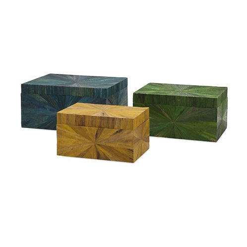 Brianna Water Hyacinth Boxes, set of 3
