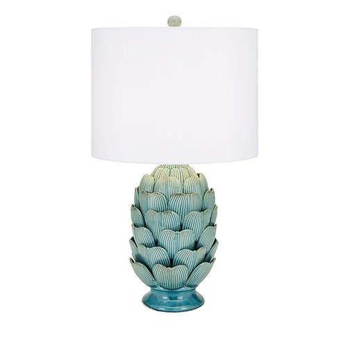 Nana's Garden Blue Table Lamp