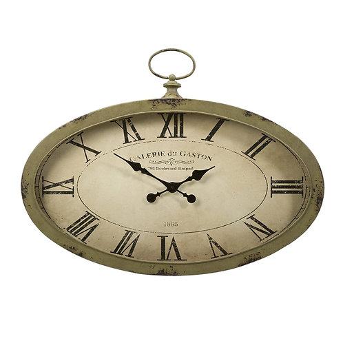 Briggs Manor Oval Wall Clock