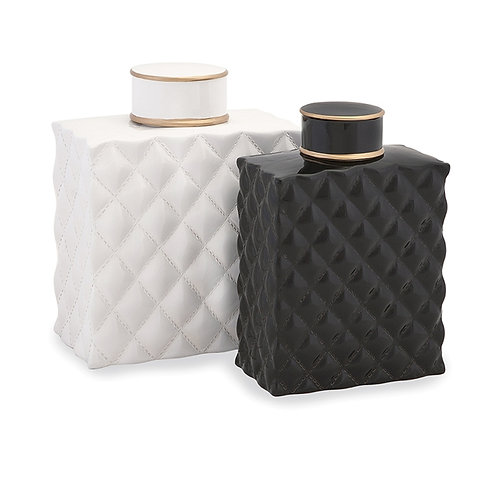 Nikki Chu Marcario Canisters, set of 2