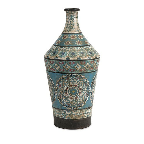 Kabir Large Hand Painted Vase