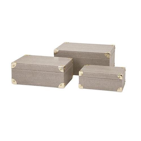 Beth Kushnick Storage Boxes, set of 3