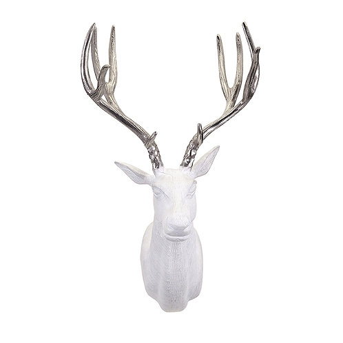 JWB White and Silver Deer Mount