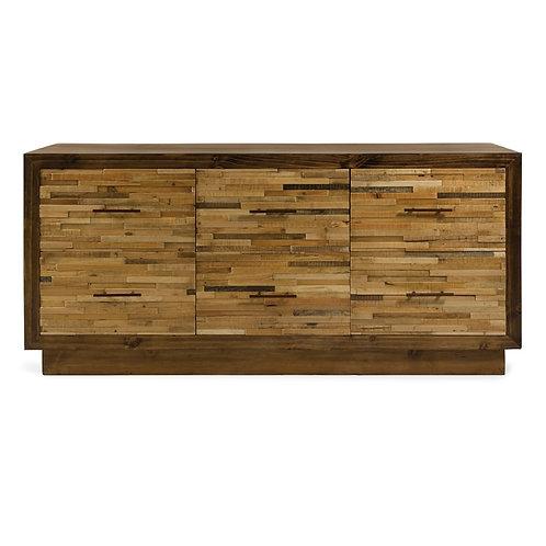 JWB 6-Drawer Reclaimed Pine Wood Dresser