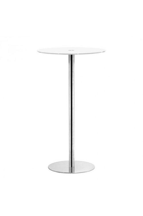 Cyclone Bar Table, White