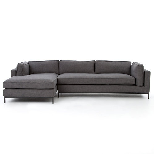 Grammercy 2 Piece Sectional, left arm