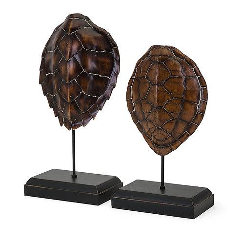 KK & Jace Turtle Shells on stand, set of 2