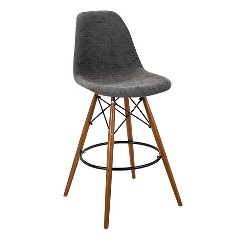 James Parker Gray Barstool