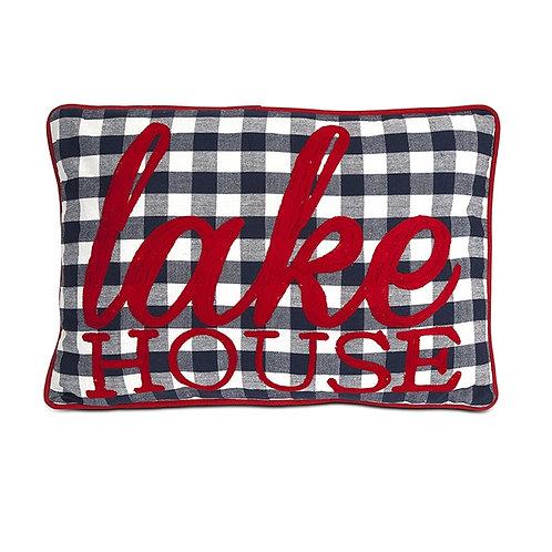 Big E Lake House Pillow