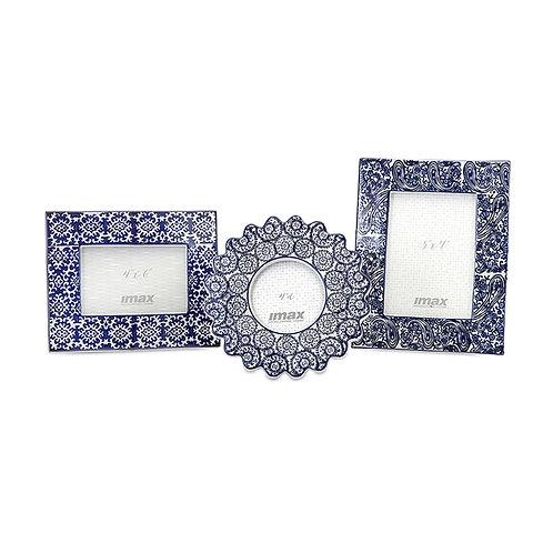 Briggs Manor Ceramic Frames, set of 3