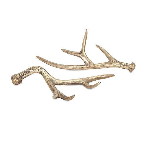 Hodge Deer Antlers, Set of 2