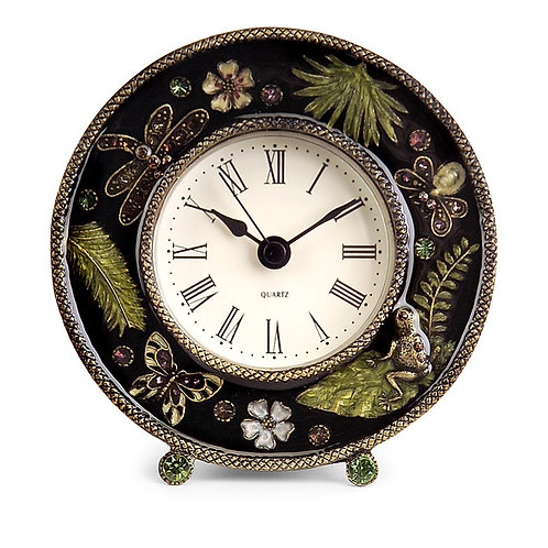 Briggs Manor Jeweled Desk Clock