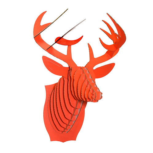 Bucky the Large Size Cardboard Deer Head - Hunter